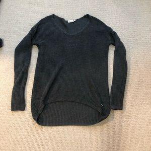 Charcoal grey long (high-low) sweater(dress)